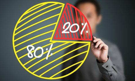 Принцип Парето. Как фокусируясь лишь на 20% всех действий, достигать 80% результата?