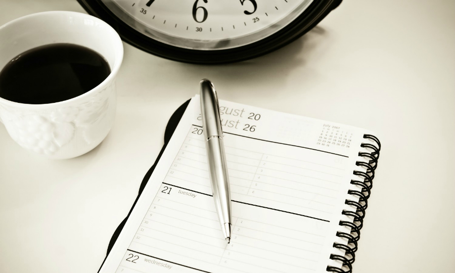 Планирование времени с помощью ежедневника
