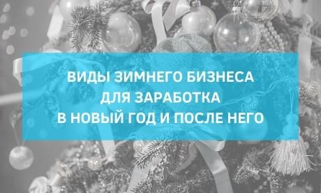 6 видов зимнего бизнеса, на которых можно заработать в Новый Год и после него