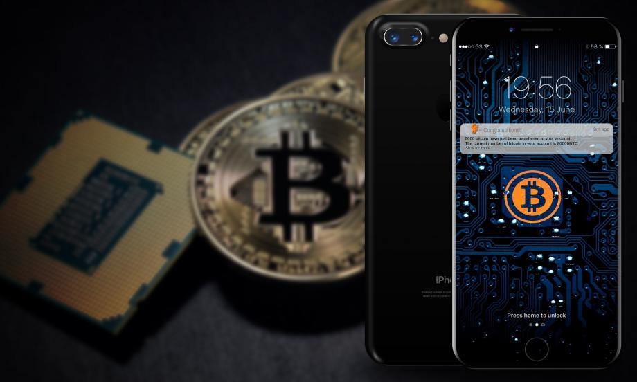 Кошелек биткоин на iPhone