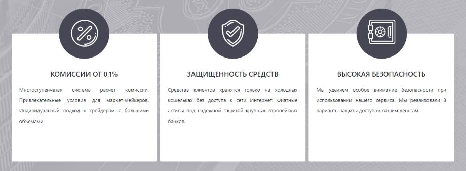 Биржа BitexBook - защита средств