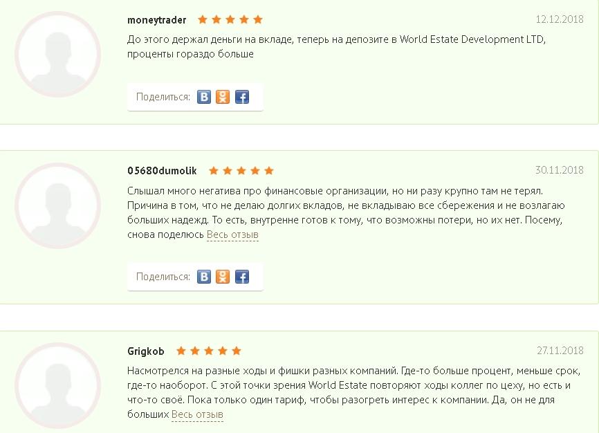 Отзывы о Worldedev