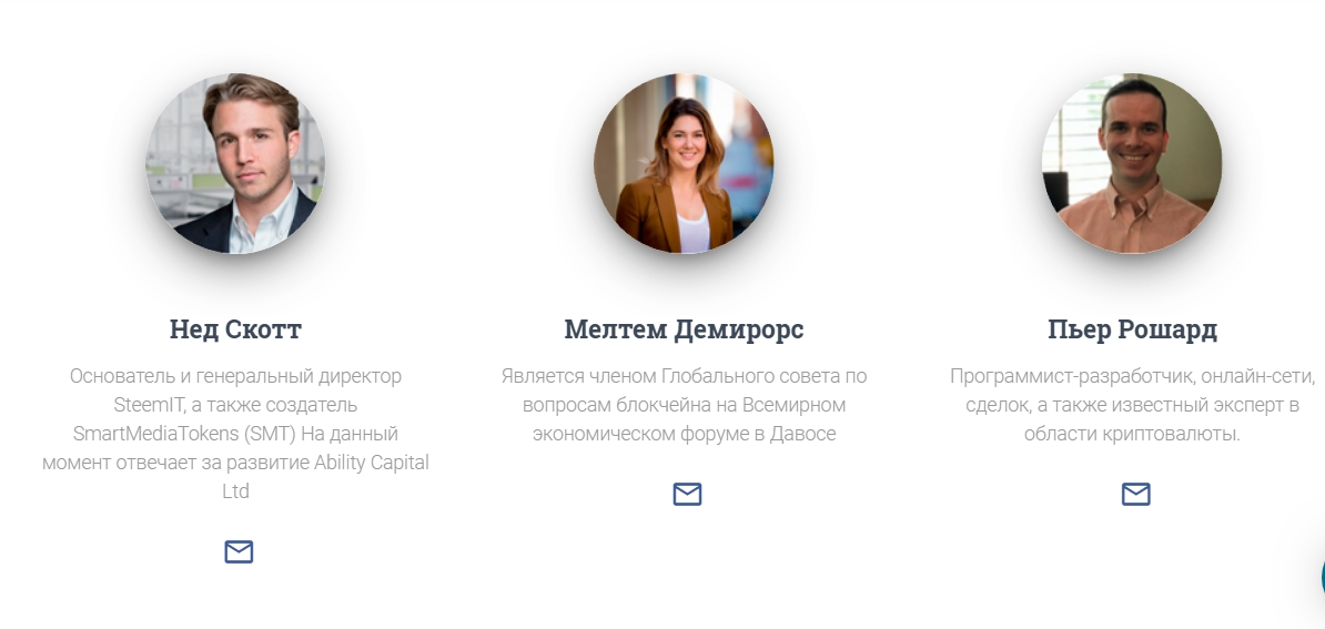Сотрудники Ability Capital