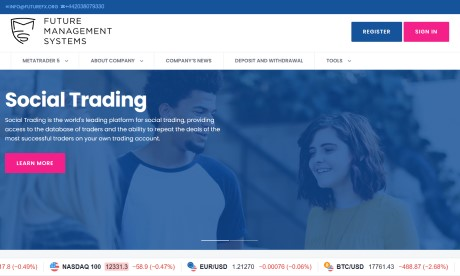 Future Management Systems – доходные ПАММ счета на FutureFX.org